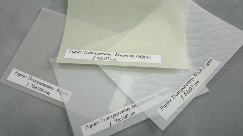 Papier transparentny 1